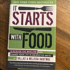 It starts with food - whole 30 book!